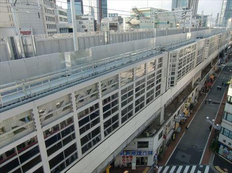 東北縦貫線(秋葉原駅方向)