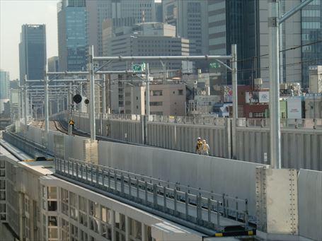 東北縦貫線(東京駅方向)