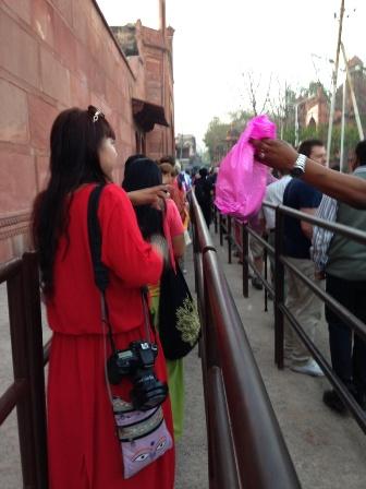 中国人観光客