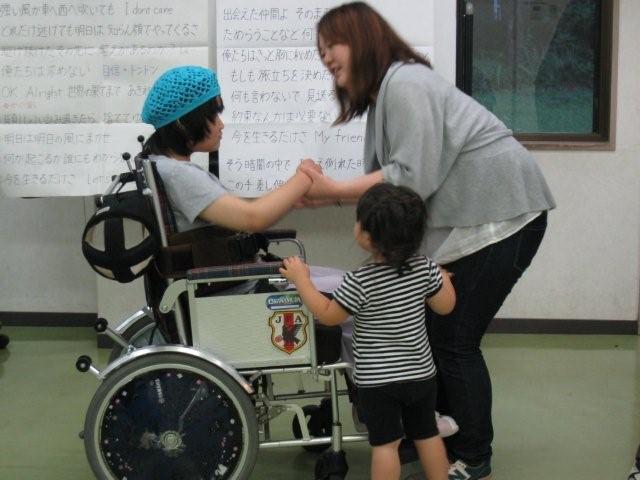 hsd7月11日ねね車椅子