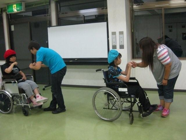 hsd8月22日車椅子ダンス