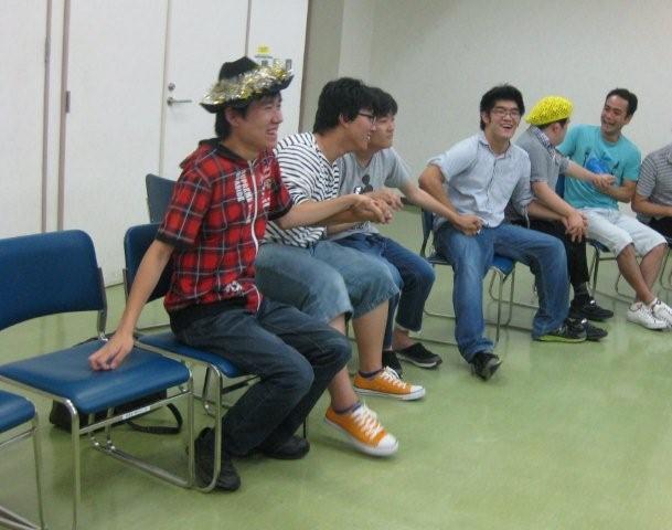 hsd9月5日手話Dチーム盛り上がり