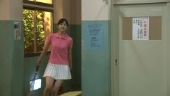 石橋杏奈ミニスカテニスウェア画像2