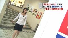 小川彩佳アナTシャツおっぱい画像1