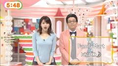 加藤綾子カトパンめざましテレビおっぱい画像1