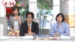久冨慶子アナパンチラ画像2