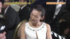尾野真千子ノーブラ谷間アカデミー賞画像3