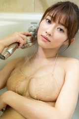 原幹恵濡れ濡れシャワーの巨乳画像2