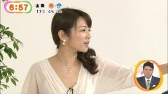 長野美郷ミニスカ透け透け勝負服画像3