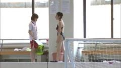 筧美和子水球ヤンキース競泳水着画像6