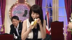 平井理央バナナ早食い画像1