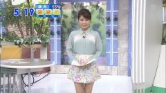 美馬怜子透け透けミニスカ画像3