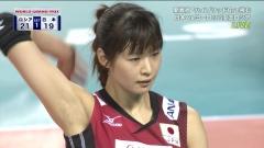 木村沙織ワールドグランプリ2014画像1