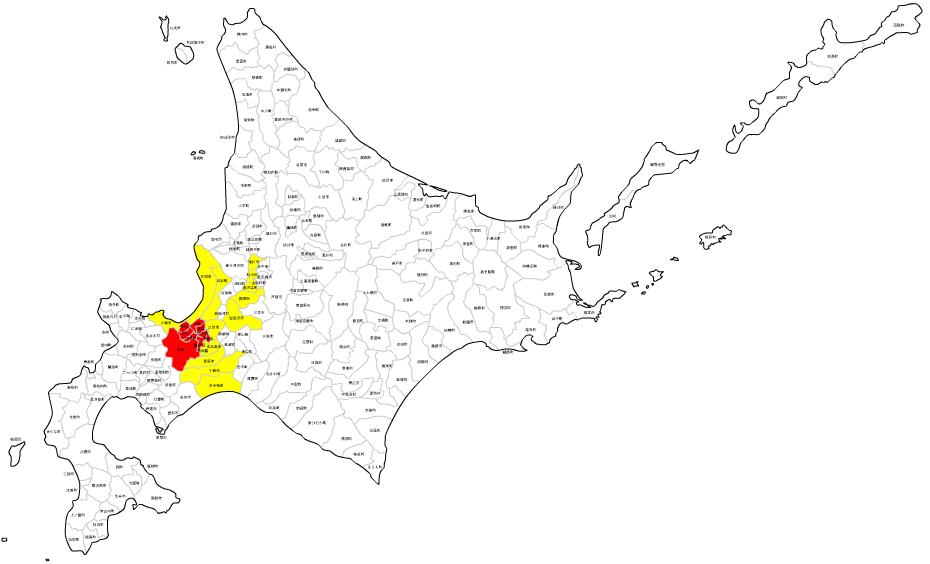 北海道の場合