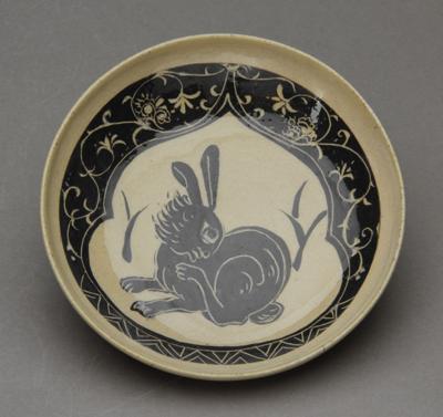 磁州窯ウサギ