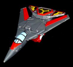 シルバーナイツ 空の騎士 ジェットシルバー ジェット機モード