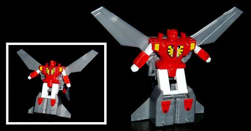 シルバーナイツ 空の騎士 ジェットシルバー ロボットモード