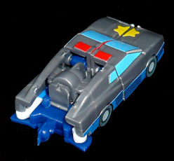 シルバーナイツ 星の騎士 スターシルバー パトカーモード
