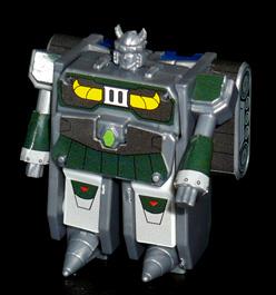 シルバーナイツ 大地の騎士 ドリルシルバー ロボットモード