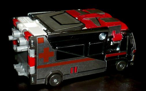 シルバーナイツ 炎の騎士 ファイヤーシルバー 救急車モード