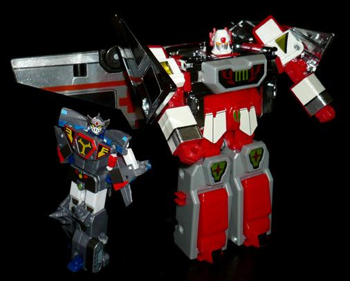 シルバーナイツ 炎の騎士 ファイヤーシルバー ロボットモード