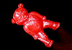 コリス フエラムネのおまけ ゆるクマ(メタリック赤)