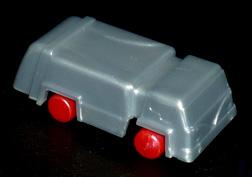 コリス フエラムネのおまけ ゴミ収集車(銀)