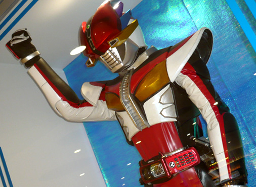 ナムコアクションミュージアム 東映ヒーローワールド 仮面ライダー電王 ライナーフォーム