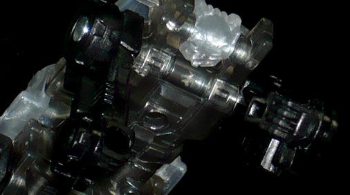 マイクロン シルバーローラー ロボットモード