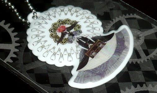 魔女ボールチェーンキーホルダー ホムリリィ(くるみ割りの魔女)