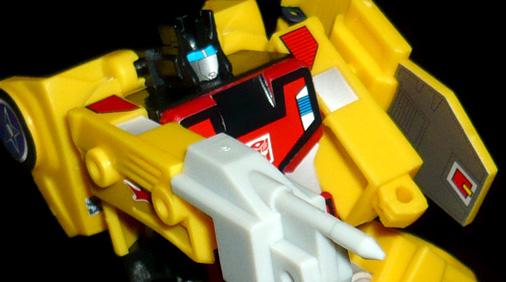 サイバトロン 技能騎士 ラスター ロボットモード