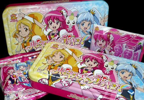 バンプレスト ハピネスチャージプリキュア! BIG缶お菓子