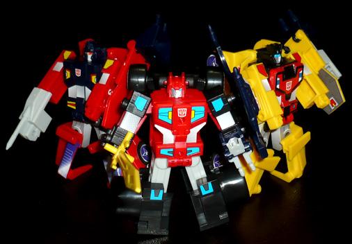 サイバトロン ブレインマスター三銃士 ロボットモード