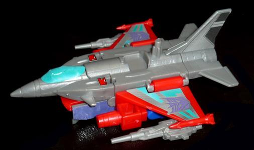 デストロン 宇宙航空兵士 バスター ビークルモード