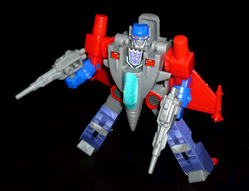 デストロン 宇宙航空兵士 バスター ロボットモード