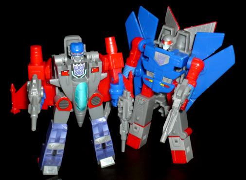デストロン バスター&ハイドラー ロボットモード