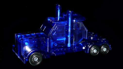 EZ オートボット オプティマスプライム クリアVer, ビークルモード