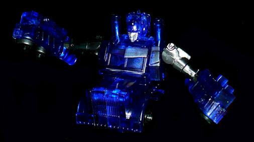 EZ オートボット オプティマスプライム クリアVer, はんぶんビークルモード