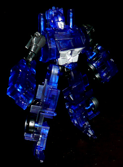 EZ オートボット オプティマスプライム クリアVer, ロボットモード