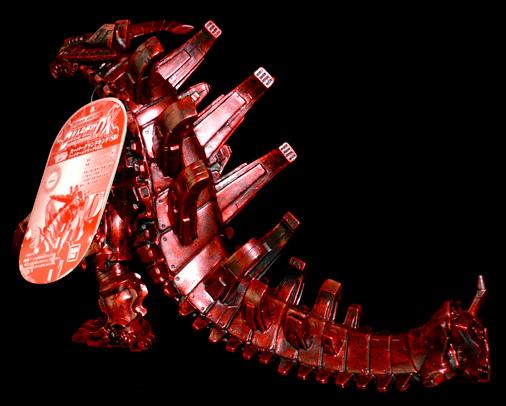 超怪獣 スーパーグランドキング(SD) ファイヤーメタリックVer,