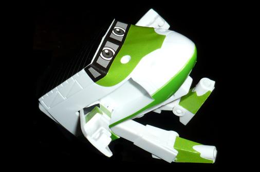 サム ロボットモード