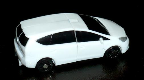 ジャイロゼッター トヨタ プリウスα ビークルモード