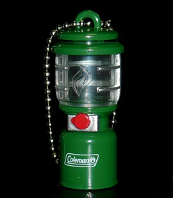 KIRIN FIRE 歴代コールマン ランタンキーホルダー 2500 ノーススター® LP ガスランタン