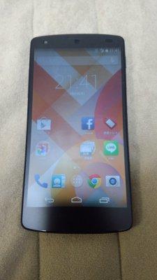 Nexus5本体