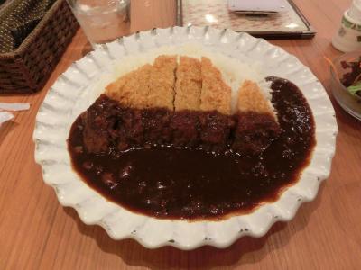 大和Cafeのカツカレー
