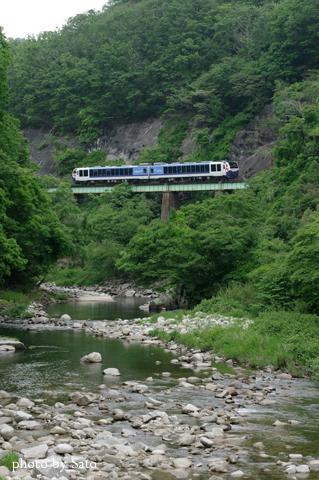 磐越東線新緑号6