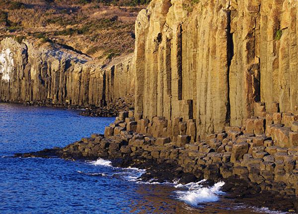 生月島 塩俵の断崖