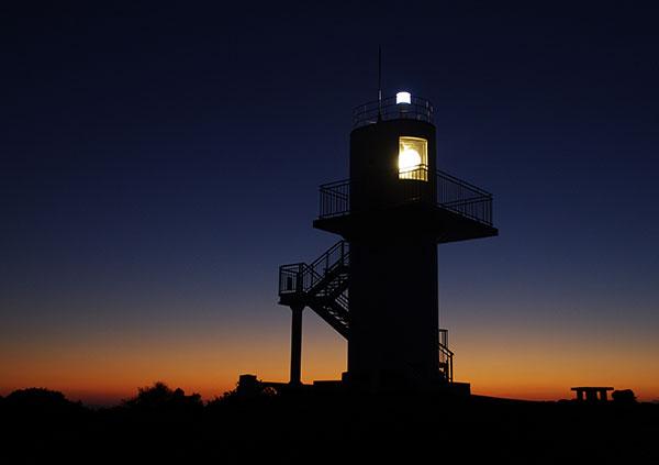 生月島 大婆鼻の灯台