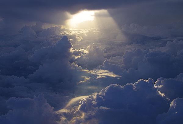 多治見市上空の雲海
