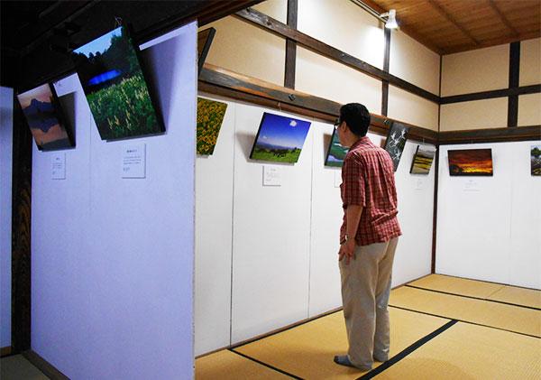 香泥庵の展示空間